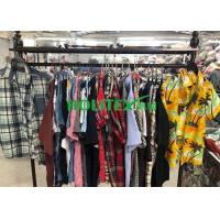 China Adults 2nd Hand Mens Clothing , Second Hand Used Clothes Mens Shirts Short Sleeves wholesale