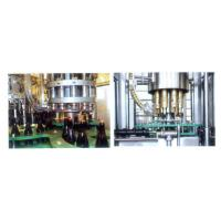 China Liquor / Wine / Beer Glass Bottle Filling Machine , Pure Water Filling Plant 18-18-6 wholesale