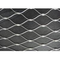 China Top Quality Stainless Steel Grade Flexible Wire Rope Mesh Netting wholesale