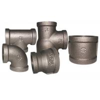 China Galvanized Malleable Iron Pipe Fittings Sanitary Tee Plumbing High Precision wholesale