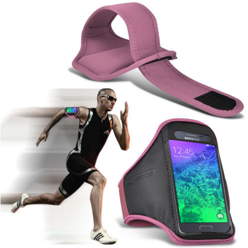 Quality Samsung Galaxy Alpha Outside workout Exercise Running Jogging Fitness Armband bag case for sale