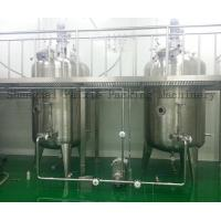 China Paint / Resin / Food Stainless Steel Mixing Tanks for Fermentation wholesale