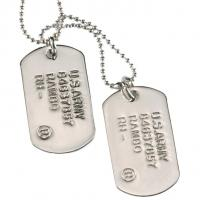 China New Arrival Engraved Aluminum Dog Tag wholesale