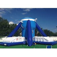 Buy cheap Free Klimb Inflatable Interactive Games , Large Blue 28ft Inflatable Climbing from wholesalers