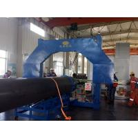China 1000mm Dia Plastic Pipe Welding Machine PE PVC PP HDPE PIPE Pipe Cutting on sale