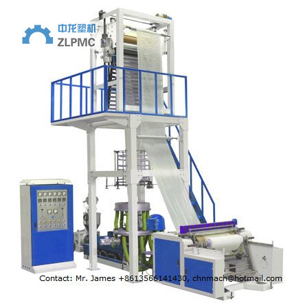 Quality Super HIGH SPEED Full automatic LDPE, HDPE, LLDPE plastic film blowing machine for sale