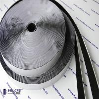China Black Color Self Adhesive Hook And Loop Tape Carpet Velcro Tape Hot Melt Glue wholesale