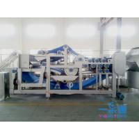 China Belt Industrial Apple Juicer / Carrot Belt Juice Extractor Machine With CIP Cleaning System wholesale