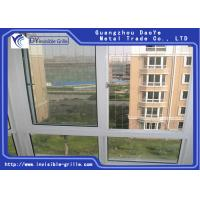 China Fixed Invisible Window Security Grill , Stainless Steel Window Grill on sale