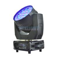 Buy cheap Vizi Wash Pro RGBW 19 X 15W LED Wash Moving Head For Theater High Efficiency from wholesalers