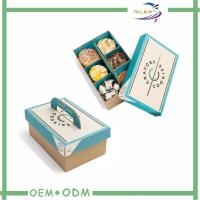 China Disposable Biodegradable Paper Bento Lunch Boxes / Take Away Bento Box wholesale