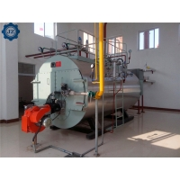 Buy cheap 100hp 1.5ton/H 1500kg Industrail Fire Tube 3 Pass Skid-Mounted Steam Boiler For from wholesalers