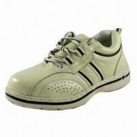 China Ladies Rubber Cemented Safety Shoes with Steel Toe Cap wholesale