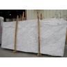 China External  Wall Cladding Carrara White Marble Slab , Big Marble Garden Slabs wholesale