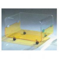 """Clear Modern Acrylic Table Furniture With 4 Caster 30"""" * 18"""" * 19"""""""
