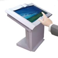 China Floor Standing Viewpoint Interactive Kiosks , Commercial Touch Screen Display For Library on sale