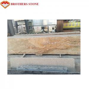 China Natural Stone Kashmir Gold Granite Slab For Floor Tile Or Countertop on sale