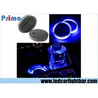 China Solar Energy Car Truck Cup Holder Bottom Pad LED Light Cover Mouldings Trim wholesale