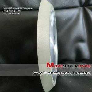 China 1V1 resin bond diamond grinding wheel for glass wholesale