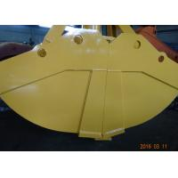 Quality One Cylinder Clamshell Bucket , Komatsu PC360 Telescopic Boom Grapple Bucket for sale