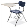 China cheap school furniture D63-06 school desk & chair wholesale