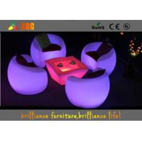 China Lightweight LED tea table / LED Bar Tables for party Modern bar counters on sale