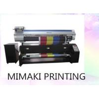 China Digital Mimaki Textile Printer 1600mm Max Materials Width Connect With Computer wholesale