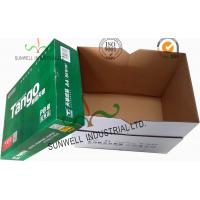 China Corrugated Cardboard packaging Office Paper Box With Handle Practical Essential B Flute wholesale