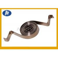 Buy cheap Stainless Steel 301 Industrial Torsion Spring , Spiral Power Spring For Motor from wholesalers