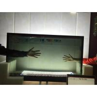 China Colorful Refrigerator With Lcd Touch Screen , Flexible Size Transparent Lcd Fridge wholesale