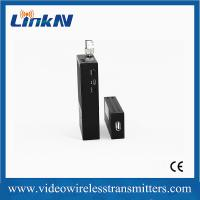 China H.264 Encoded COFDM Video Transmitter Long Range Light Weight wholesale