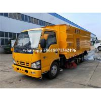 China High Pressure Truck Mounted Road Sweeping Machine Vacuum Street Cleaning Truck on sale