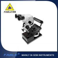 China Generation 1st  Swing arm type Gem Microscope With F15 binocular lens wholesale