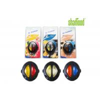 Round Membrane Air Freshener , Liquid Air Freshener For Car Vent 6ml Double Colors