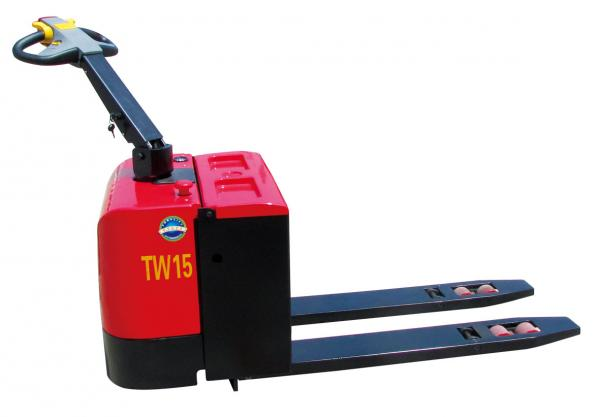 2 Ton Walk Behind Pallet Stacker Electric Forklift Price 1: Used Electric Pallet Trucks Images