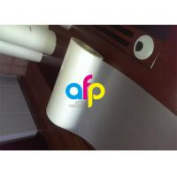 China Custom Size Polyester Laminating Film , 18 - 250 Micron Thermal Matte PET Film wholesale