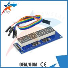 China 8 Digital Led Display Module 8 Parallel 595 Driver Blue Digital Control Circuit Board wholesale