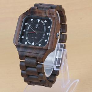 Buy cheap Водостойкие естественные деревянные наручные часы/деревянный дозор шкалы, изготовленный на заказ ЛОГОТИП from wholesalers