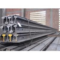 China High Tensile Strength Train Track Steel , Base Dimension 79.37mm Railway Track Material wholesale