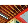 China U Shape Aluminum Baffle Ceiling , Linear Baffle Ceiling 50x100MM  Prevents  Calorific Loss wholesale