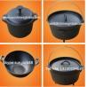 China Cast Iron Legged Bake Pot/Cast Iron Casserole &Dutch Oven/Chinese Wok wholesale