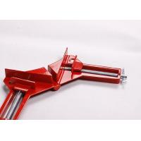 "China 3"" 90 Degree Corner Clamp Devices Alloy Aluminium For Gluing / Nailing wholesale"