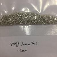 Buy cheap Cheap cost High Pure 5N 99.999% Indium Shots Indium Pellets Size 1-3mm from wholesalers
