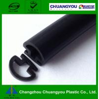 China Custom Automobile Extruded Rubber Seals Metal Window Side Sealing Strip wholesale