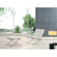 China Comfortable And Elegant Contemporary Design Barcelona Chair Replica Hotel Lounge Chairs wholesale
