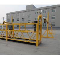 Buy cheap Zlp800 Steel Suspended Working Platform 380v 3 Phases For Outer Wall Cleaning from wholesalers
