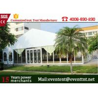 China Outdoor Big  A Frame Tent PVC Fabric With Hot Dip Galvanized Steel Parts wholesale