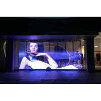 China Glass Display Transparent Led Display Full Color Transparent Led Wall 7.8 Pixels wholesale