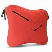 China Laptop Sleeve with Front Pockets for USB, Made of Neoprene wholesale