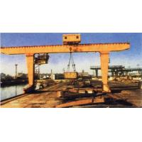 MG Double Girder Gantry Electric Overhead Crane With Hook , 25T Rated Loading Capacity